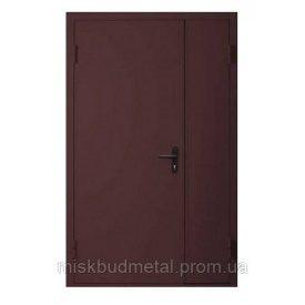 Дверь противопожарная Міськбудметал ДМП 21-12 EI60 2100х1200 мм