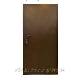 Техническая металлическая дверь Міськбудметал ДМЗ 22-8 2200х800 мм