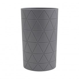 Trento Piramide grey стакан для зубных щёток