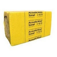 Акустична мінеральна вата AcousticWool Sonet 1000x600x50 мм
