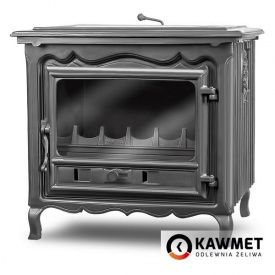 Чавунна піч KAWMET P2 10 кВт 645х600х530 мм