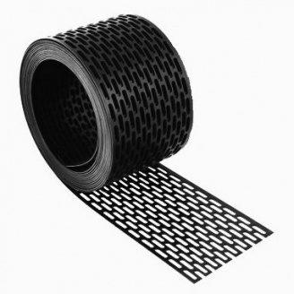 Лента свеса вентиляционная Черный IVT 5000x100 мм