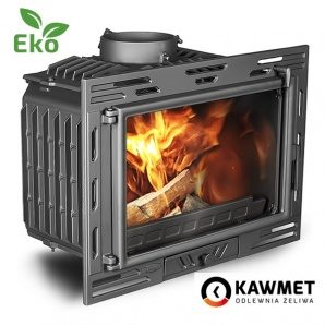 Каминная топка KAWMET W9 EKO 9,8 кВт 680х490х405 мм