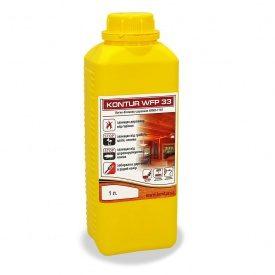 Огнебиозащита для защиты древесины KONTUR WFP-33 (ХМХА-1110) 1 л