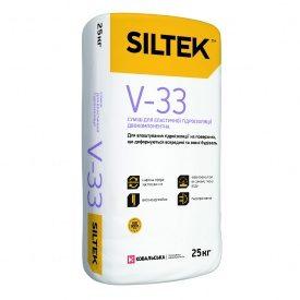 Суміш для еластичної гідроізоляції двокомпонентна Siltek V33/E33 18кг 5 л