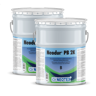Двухкомпонентное полиуретановое покрытие модифицированным битумом Neodur PB 2K