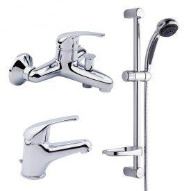 Комплект смесителей для ванной комнаты 3 в 1 Италия Bianchi Star KITSTR 2021#SA CRM (KITSTR 2021SA)