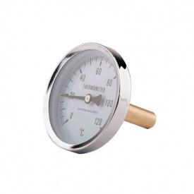 SD Термометр заднього підключення 1/2 63 мм 120 градус C штуцер 50 мм SD 17450 MM