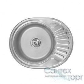Мийка кухонна неіржавіюча сталь товщина 0,6 мм глибина 160 мм Imperial 6044 Satin 160