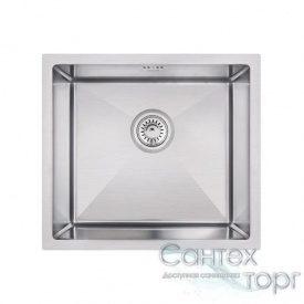 Кухонна мийка врізна під стільницю. Розмір: 46*45 Товщина 3.0/1.2 mm