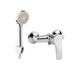 Смеситель в душ со шлангом и лейкой GF Italy (CRM)/S- 03-010