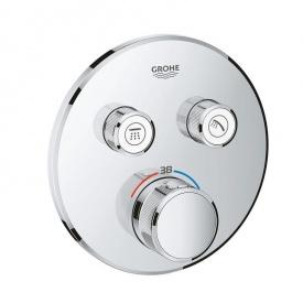 Термостатический смеситель скрытого монтажа на 2 режима Grohe SmartControl 29119000