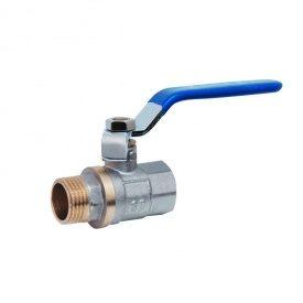 """Кран кульовий для води, латунний 3/4"""" (20) ВН для води SD SD605W20"""