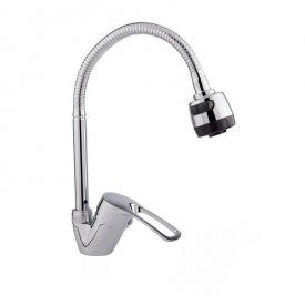 Кухонний змішувач з рефлекторним (гнучким) виливом GF Italy (CRM)/S - 04-008-1 EF