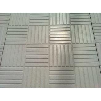 Вібролита тротуарна плитка Печенька 300x300x30 мм сіра
