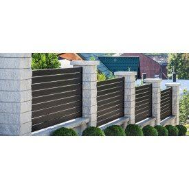 Забор Ранчо S металл 0,5 мм 3000 мм
