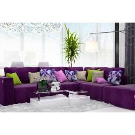Модульный диван Лацио с левым расположением из ткани 1 категории