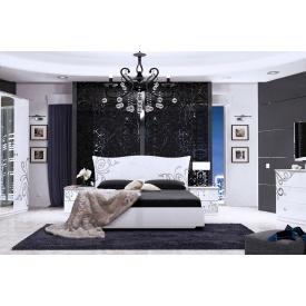 Спальня Богема White 160x200 без каркасу