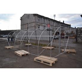 Каркас Алюминиевой арочной теплицы 4 м