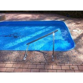 Поручень из нержавейки для бассейнов