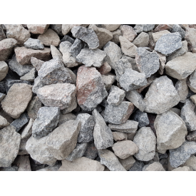 Щебень гранитный фракции 40-70 мм навалом от 30 тонн
