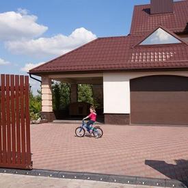 Гаражные секционные ворота ALUTECH Trend 2750х2500 мм