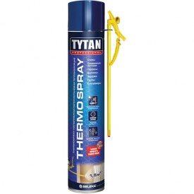 Напыляемая полиуретановая теплоизоляция TYTAN Professional THERMOSPRAY STD 800 мл