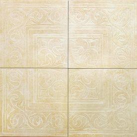 Декор COTTO CLASSICO 65x65 ROSONE BEIGE RAX21 компл з 4 шт ZEUS CERAMICA