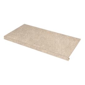 Ступень угловая правая Concrete 345x600x35x10,2 sabbia SZRXRM 3 RR 2 ZEUS CERAMICA