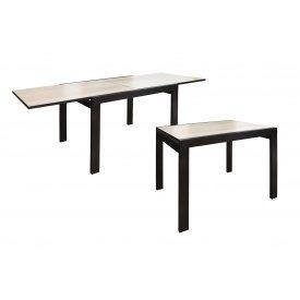 Розсувний стіл Слайдер-Твіст 815-1630х670х760 мм венге світлий сонома