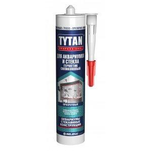 Герметик силиконовый для аквариумов и стекла TYTAN Professional 310 мл бесцветный