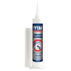 Очиститель силикона TYTAN Professional 80 мл белый