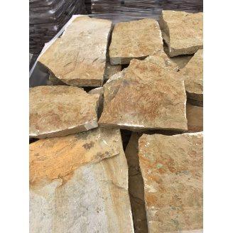Тротуарный камень ALEX Group Песчаник 5 см оливковый
