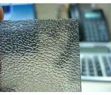 Лист бронзового монолітного полікарбонату шагрень Bauglas 3 мм