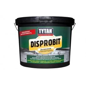 Битумно-каучуковая дисперсионная мастика TYTAN Professional Disprobit для ремонта кровли и гидроизоляции 10 кг