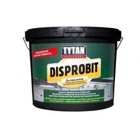 Битумно-каучуковая дисперсионная мастика TYTAN Professional Disprobit для ремонта кровли и гидроизоляции 20 кг