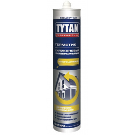 Герметик силиконовый универсальный TYTAN PROFESSIONAL 280 мл бесцветный
