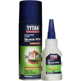 Двукомпонентный цианакрилатний клей Tytan для MDF 200 мл+50 г