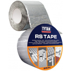 Лента битумная для кровли TYTAN Professional RS TAPE 10 см 10 м коричневый