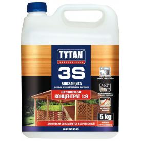 Биозащита дачных и хозяйственных построек TYTAN Professional 3S 5 кг