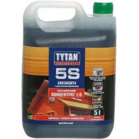 Біозахист будівельної деревини TYTAN Professional 5S 5 л