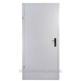 Дверь противопожарная 2100х800 мм Міськбудметал ДМП 21-8 EI60