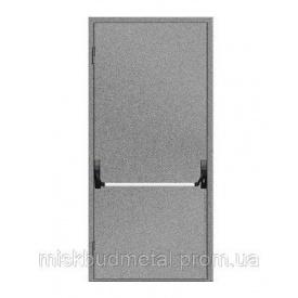 Протипожежні двері антипаніка 2100х900 мм Міськбудметал ДМП 21-9 EI30 А