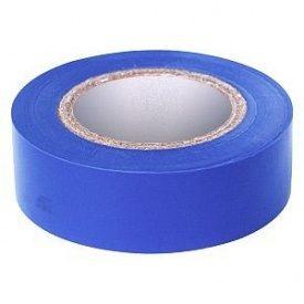 Изолента ПВХ синяя 19 мм 20 м