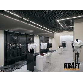 Светильники для подвесных потолков грильято KRAFT LED-G-15 1200 мм 29 Вт 2 шт