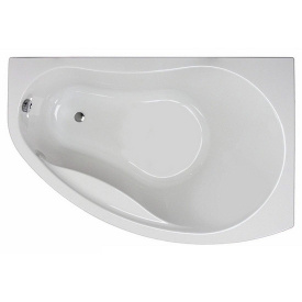 PROMISE ванна 150x100 см асимметричная правая с ножками SN 7