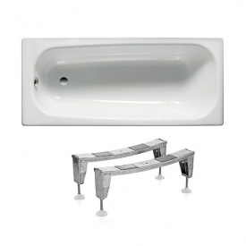 Комплект CONTESA ванна 150x70 см прямокутна + ніжки