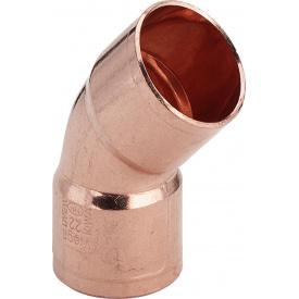 Отвод 45 градус 15 мм 95041