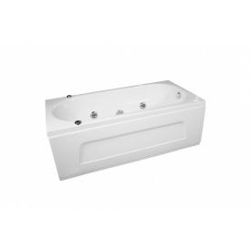 Ванна прямоугольная с гидромассажем и пневмокнопкой 1700x750x550 мм