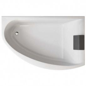 MIRRA ванна 170x110 см асимметричная правая с ножками SN 8 элементами крепления и подголовником